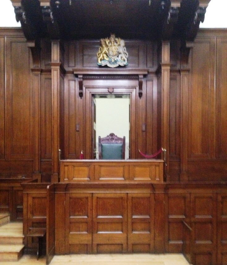Courtroom at St George's Hall