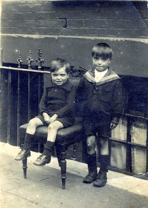Jim and John in 1923