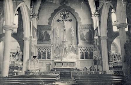 The High Altar at St Augustine's Church